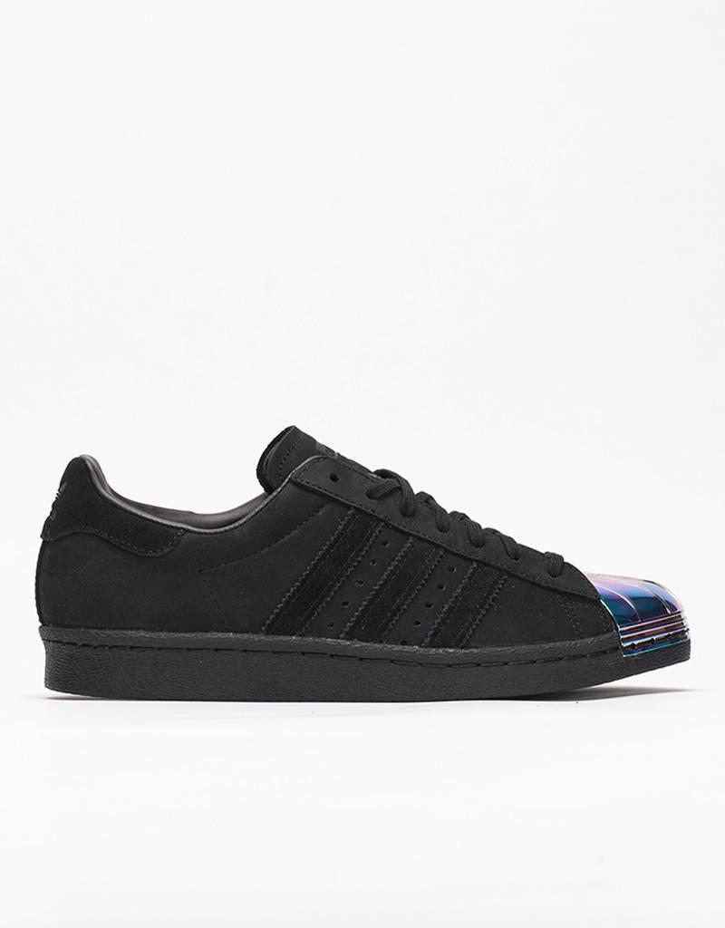 adidas Womens Superstar 80's Metal Toe black