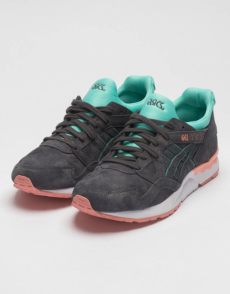Asics Womens Gel Lyte V Dark Grey