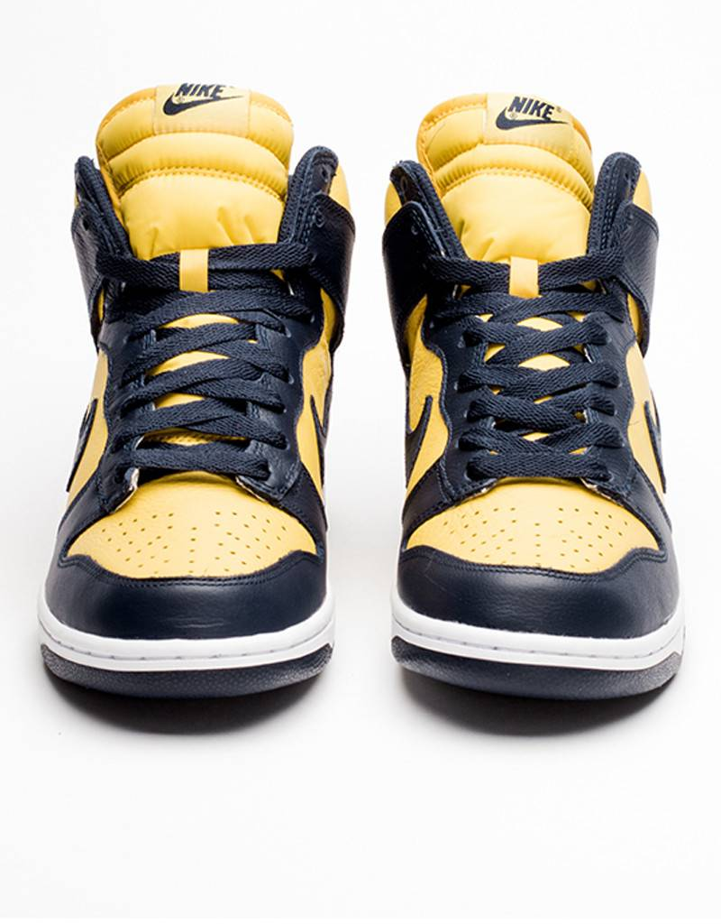 Nike Womens Dunk Retro QS vrsty maize/mdnght navy
