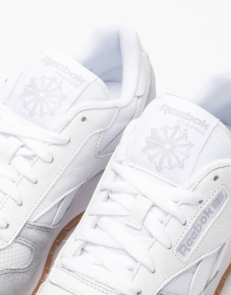 Reebok Womens CL Leather SPP White/Grey