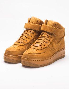 Nike Nike Womens AIr Force 1 Upstep HI LX Desert Ochre