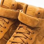 Nike Womens AIr Force 1 Upstep HI LX Desert Ochre
