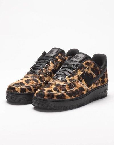 Nike womens air force 1 '07 LX black/tiger