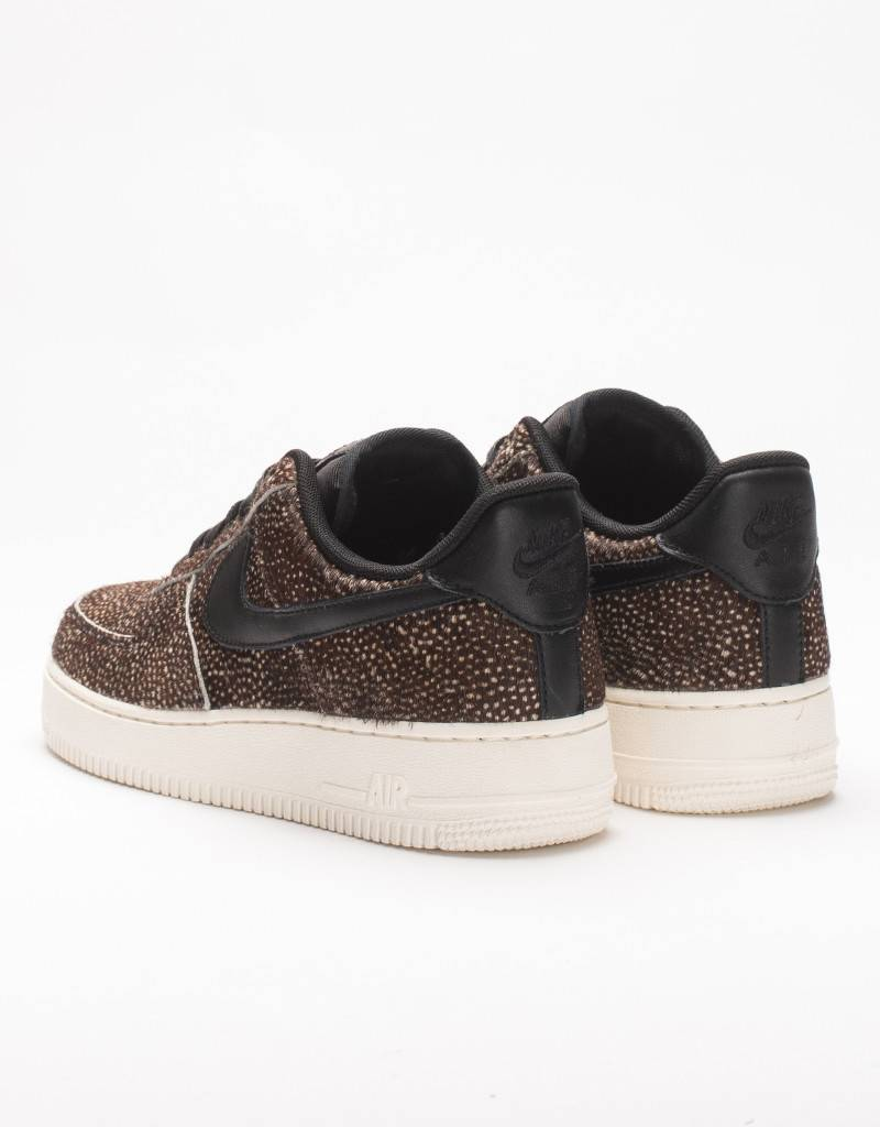 Nike womens air force 1 '07 LX black/white/speckled
