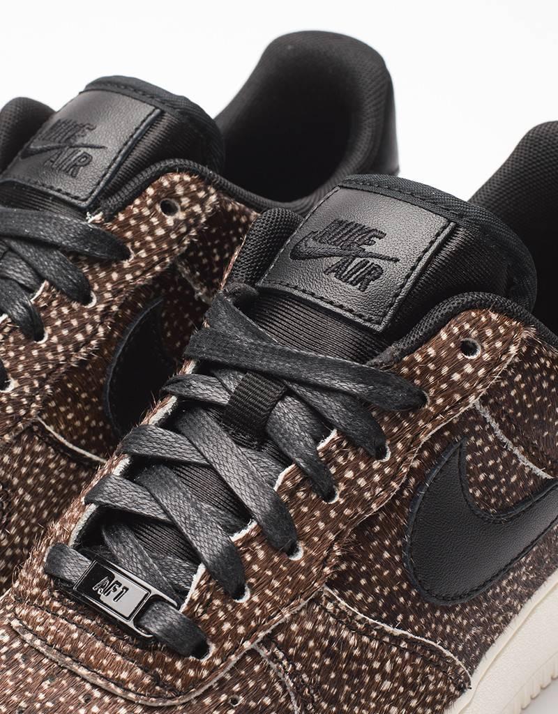 Nike women's air force 1 '07 LX black/black