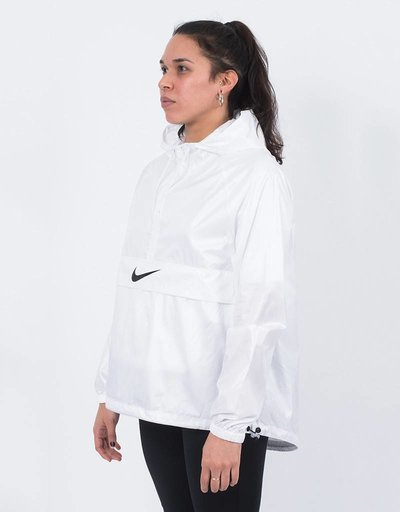 Nike womens jacket packable white/black