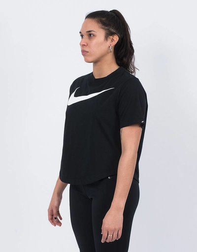 Nike women's top black/white