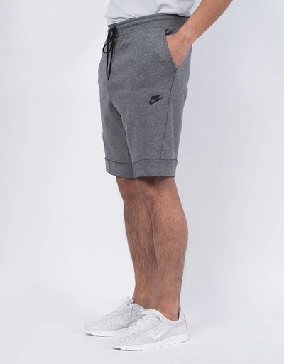 Nike tech fleece short heather grey