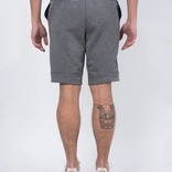 Nike tech fleece short heather grey