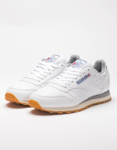 Reebok Classic Leather R12 White/Grey