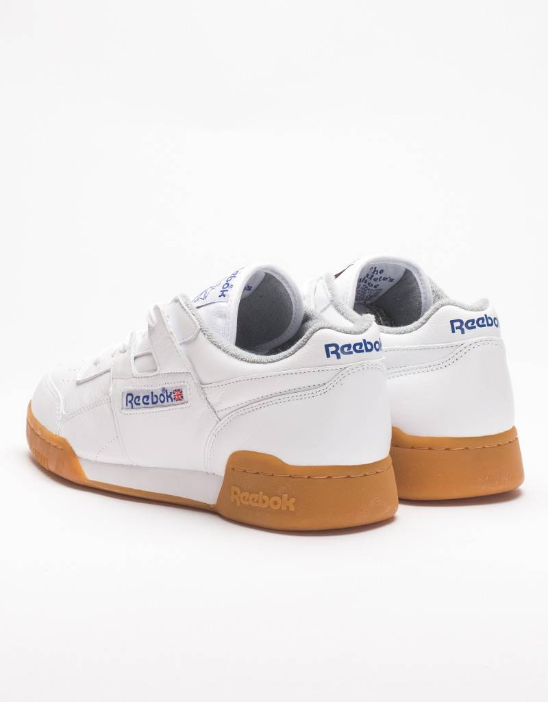 Reebok Workout Plus R12 White/Royal Blue