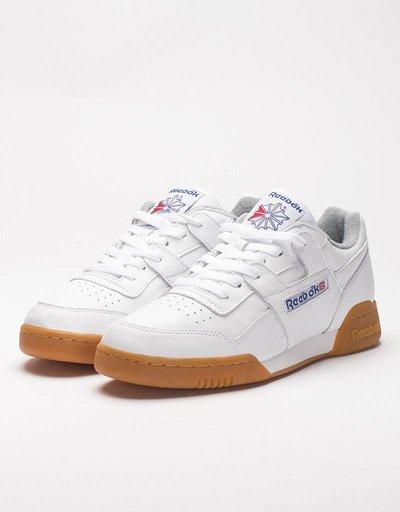 Reebok Workout Plus R12 White/Royal Blue