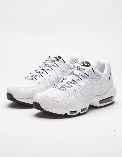Nike air max 95 white/black-black