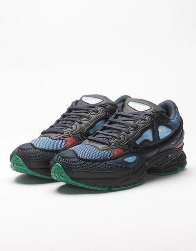 Adidas raf simons ozweego 2 night marine/core black/light blue