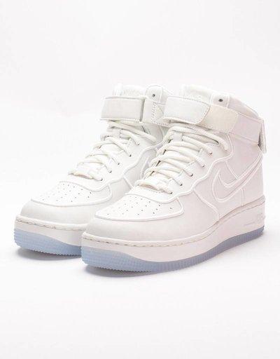 Nike womens air force 1 upstep hi summit white/blue