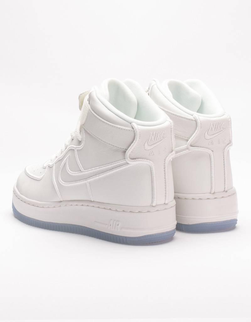 Nike womens air force 1 upstep hi si summit white/blue