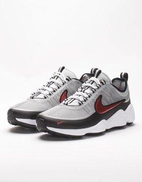 Nike Nike Air Zoom Spiridon Ultra Metallic Silver/Desert Red-Black-White
