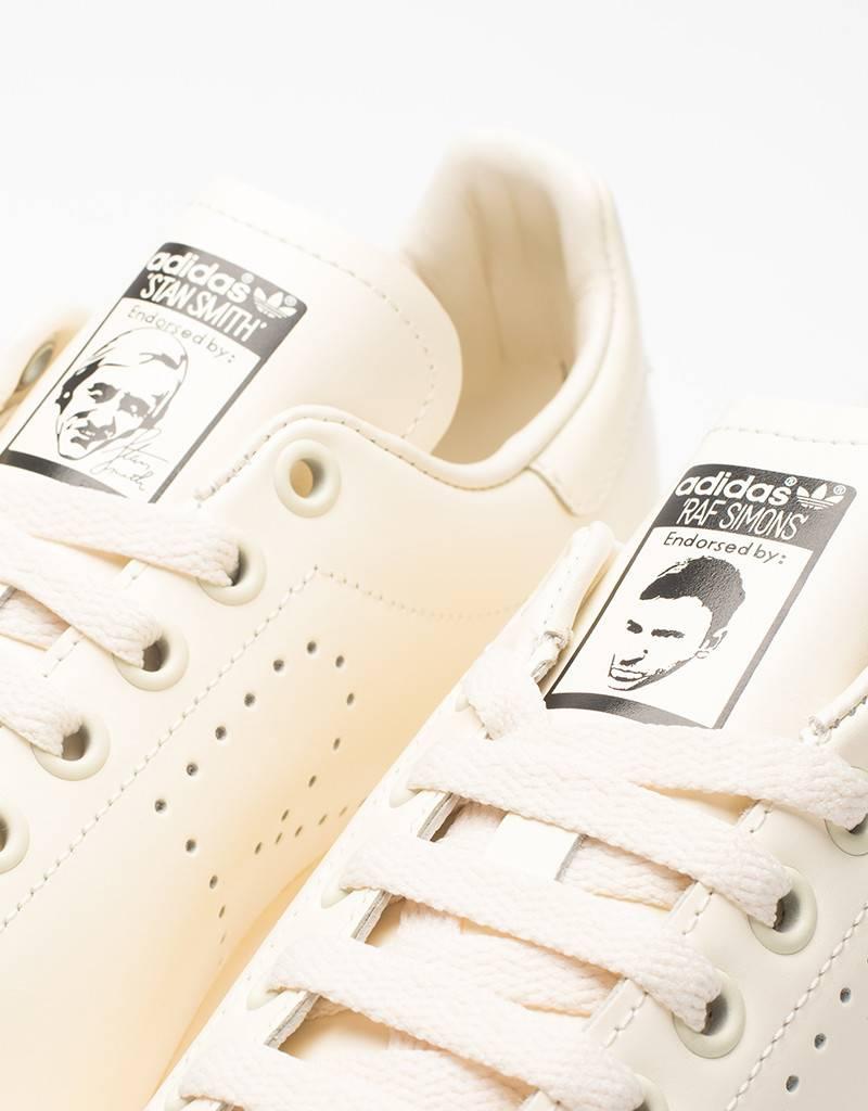 Adidas x raf simons stan smith white/white/black