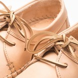 Clarks weaver natural tan leather
