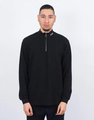 NEIGE Zipped Turtleneck black