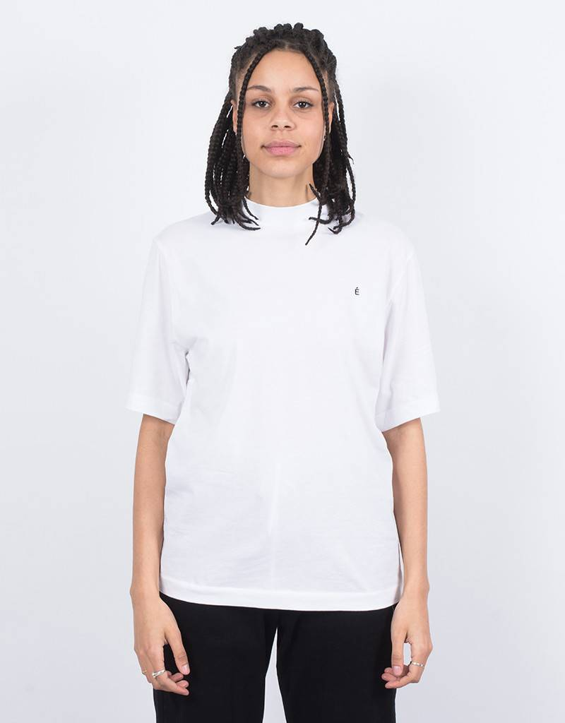 Études Award T-Shirt Embroidered White/Black