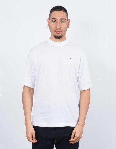 Études Award T-Shirt Embroidered White/Black