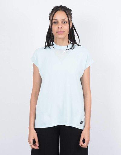 Nike womens NSW Tech Knit Tank Glacier Blue