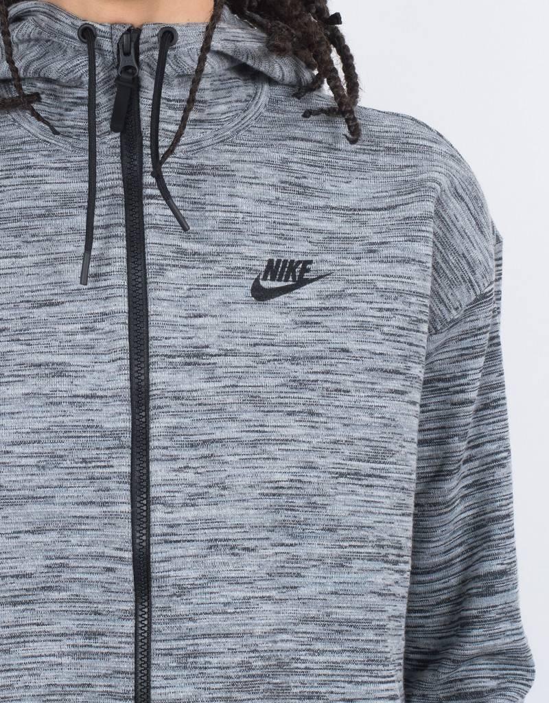 Nike Womens NSW Tech Knit Jacket HD Carbon Heather