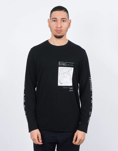 Stampd Destination Longsleeve T-shirt Black