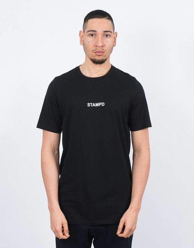 Stampd Center Logo T-shirt Black