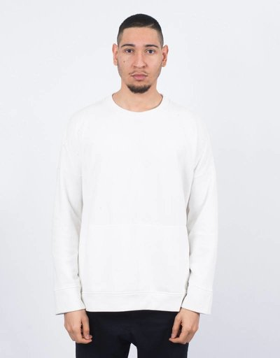 Stampd Draped Crewneck Off White