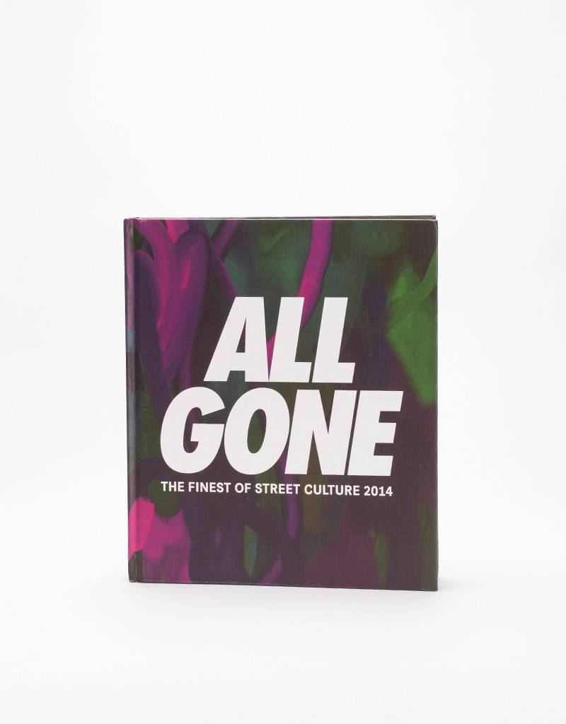 All Gone 2014 Book (dark cover)