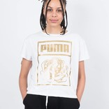 Puma x Careaux Logo T-shirt White