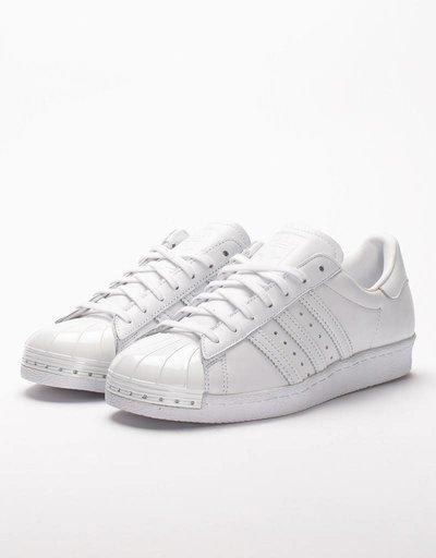 adidas Womens Superstar 80's Metal Toe white