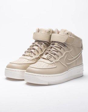 Nike Nike Womens Air Force 1 Upstep Hi SI Oatmeal/Oatmeal-Ivory-Metallic Silver