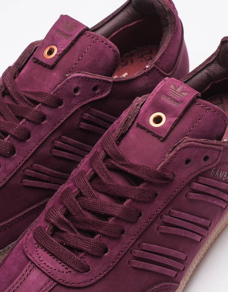 adidas Womens Samba W Deep Hue Maroon/Collegiate Burgundy