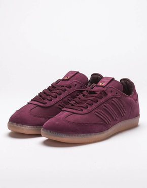 Adidas adidas Consortium Womens Samba Deep Hue Maroon/Collegiate Burgundy