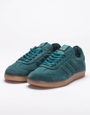 Adidas adidas Consortium Womens Samba Deep Hue Core Green/Easy Green
