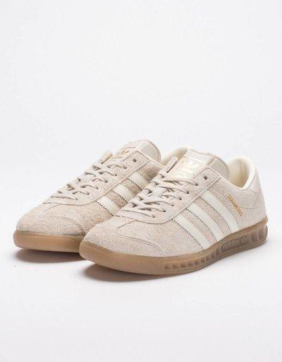 adidas Womens Hamburg Clear Brown/Off White/Gum