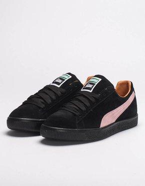 Puma Puma x Patta Clyde II black prism pink/black