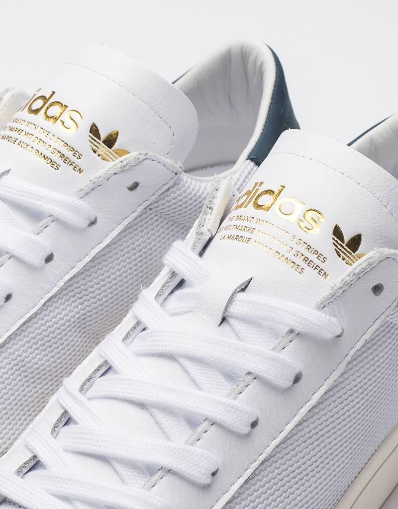 adidas court vantage white/tech ink