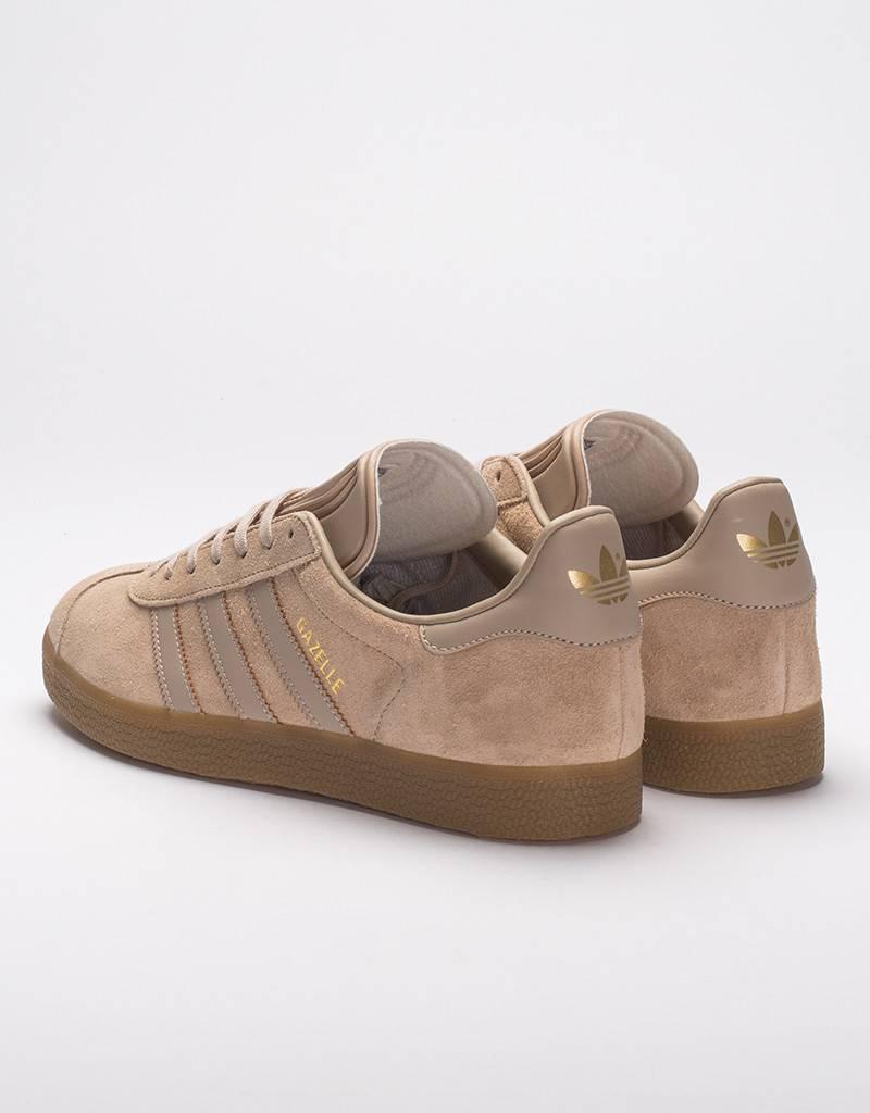 adidas gazelle brown suede
