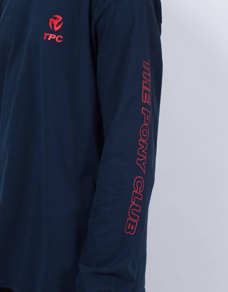 Tpc Longsleeve blue/red