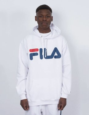 Fila FILA Basic Classic Logo Hood White