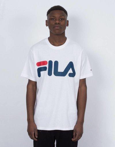 FILA Basic Classic Logo Tee White