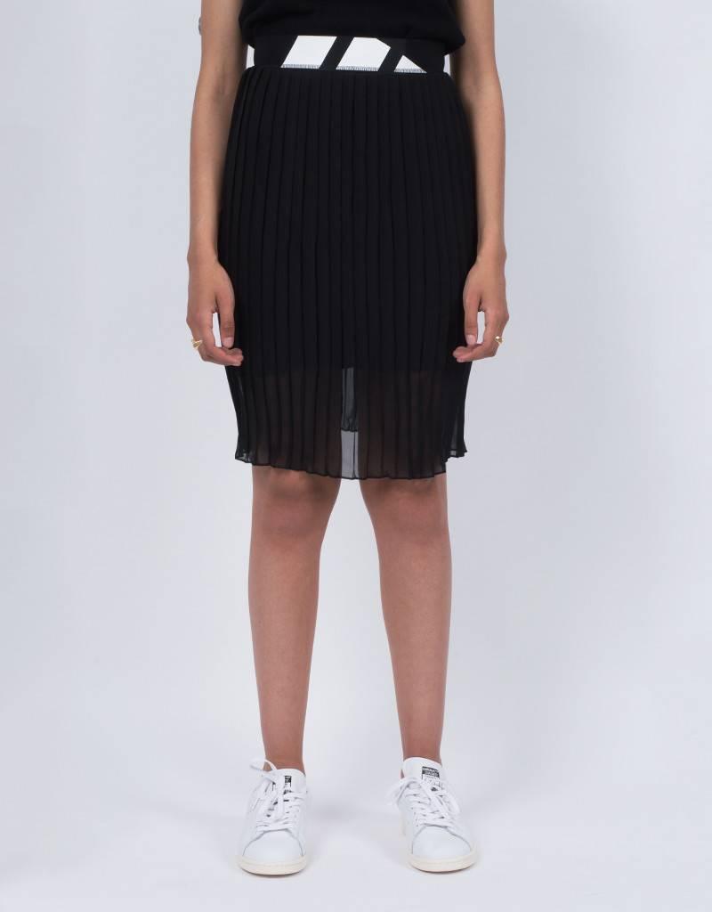 adidas Womens Pleated Skirt Black