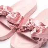 Puma Womens Fenty Bow Slide Silver Pink