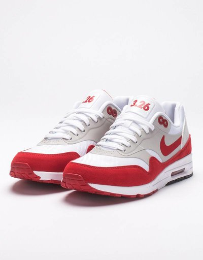 Nike Womens Air Max 1 Ultra 2.0 LE White/Universoty Red