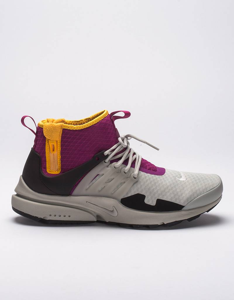 Nike air presto mid sp granite/granite rave pink
