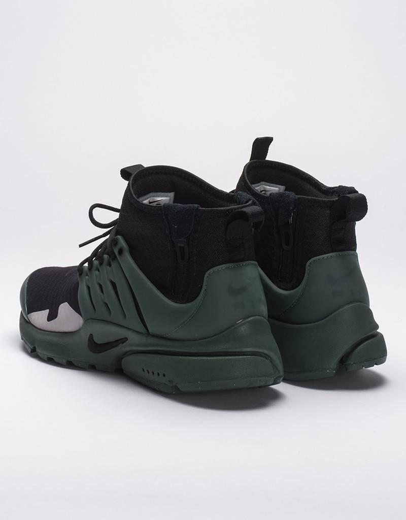 Nike air presto mid sp black/vintage green
